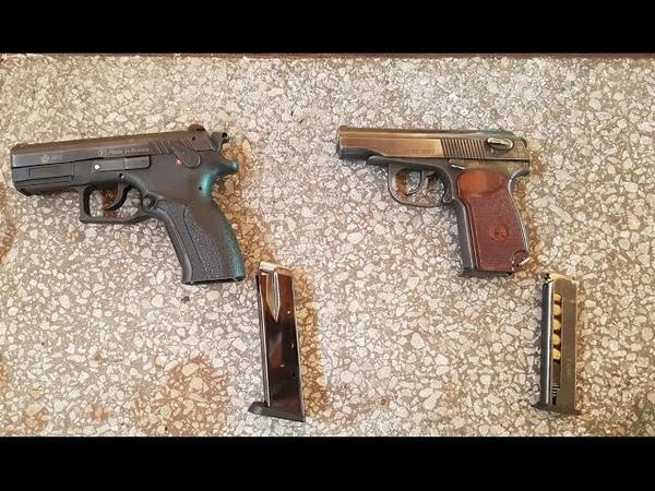 МР 80 13Т и гранд пауэр т12 стрельба новыми патронами
