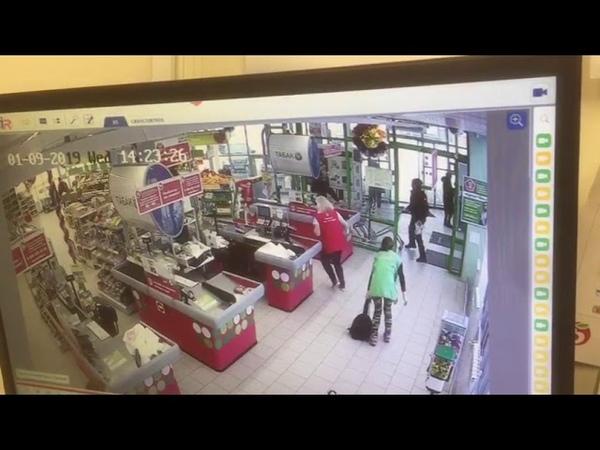 Задержание грабителя в Липецке
