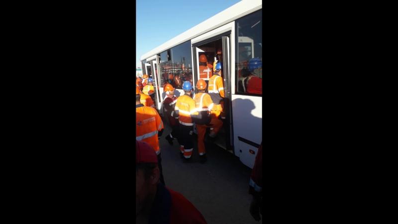 Штурм автобуса Сибур