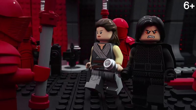 LEGO пересказ 8 эпизода Звёздных Войн за 2 мин LEGO Star Wars