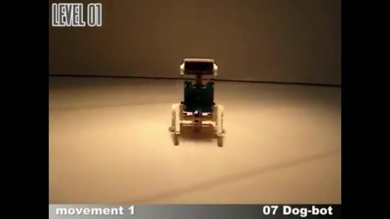 Робот - конструктор на солнечных батареях 14 в 1