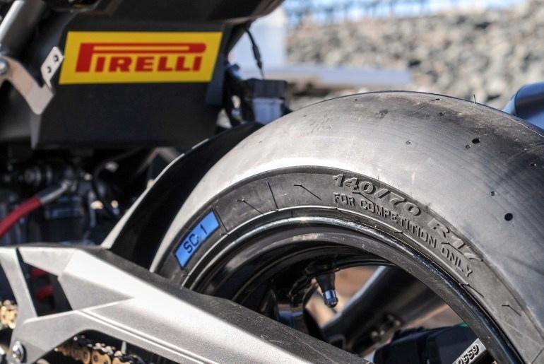 Новые слики Pirelli для маленьких спортбайков