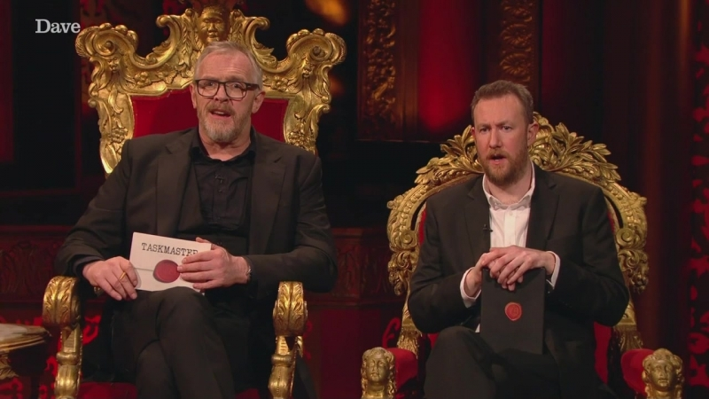 Taskmaster S06E01 The Old Soft, Curved Padlock (02.05.2018)