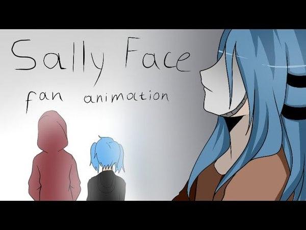 Sally Face Fan Animation