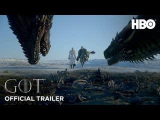 Игра престолов / game of thrones - 8 сезон (2019) официальный дублированный трейлер