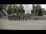 Показательное выступление к 100-летию пограничных войск России