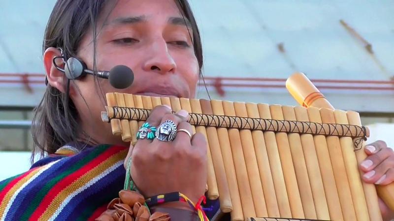 Улетная музыка индейцев! Inty Pakarina and Alpa Ecuador Spirit.