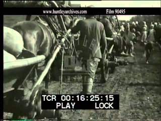 Farming in 1930's U.S.S.R. Film 90495| History Porn