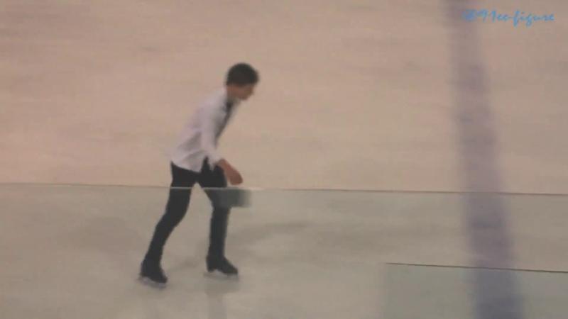 Mikhail Kolyada Golden Spin of Zagreb 2018 EX after finale