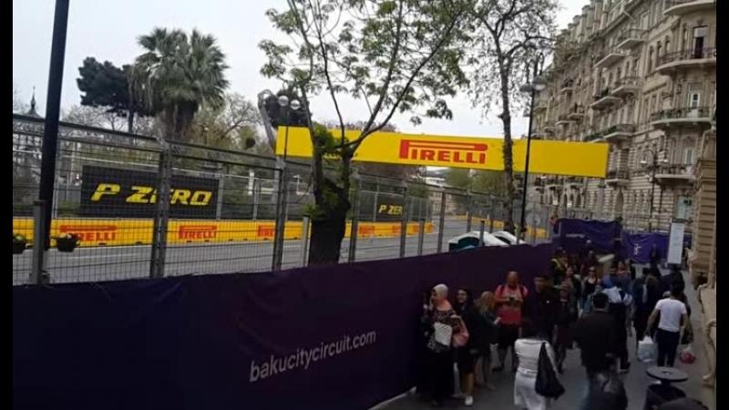 Формула 1 Баку 2018 г