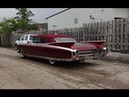 1960 Cadillac Eldorado Biarritz Convertible in Red Engine Sound on My Car Story with Lou Costabile
