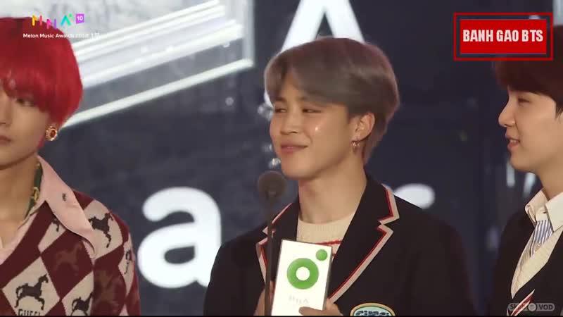 [v-s.mobi]BTS MMA 2018 - Global Artist Kakao Hot Star (Melon Music Awards).mp4