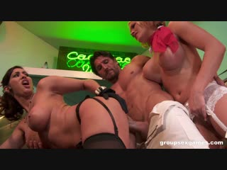 Groupsexgames gemma, massey, isis love and krissy lynn [inside story]