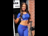 Grid girls, race queens, pit babes in tight leggings and yoga pants (Special edition vol.16)