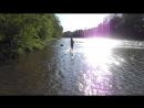 г. Хадыженск, река Пшиш, 26.04.18 - купаться пока еще прохладно