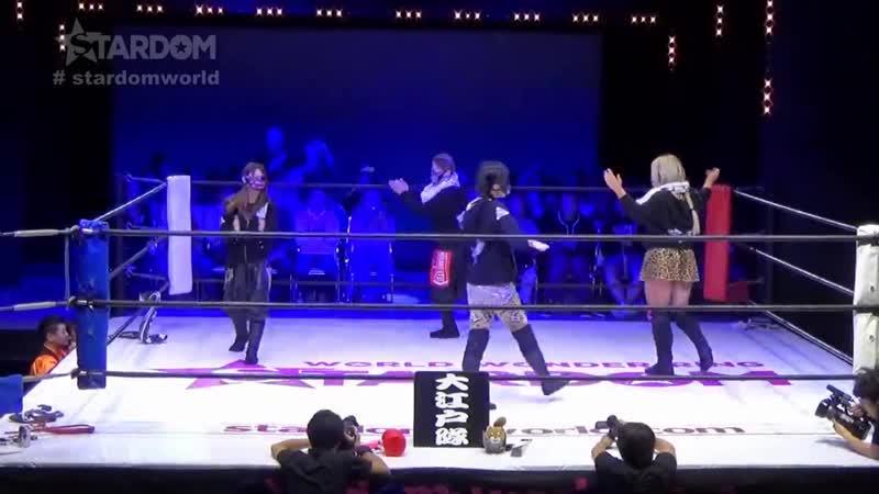 Oedo Tai (Hazuki Kagetsu) vs. Oedo Tai (Martina Natsu Sumire) - Stardom Goddesses Of Stardom 2018 - Tag 3 (Afternoon Show)