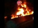 Terrible accident en Iran Un bus de passagers sest écrasé dans un camion citerne à essence 20 morts