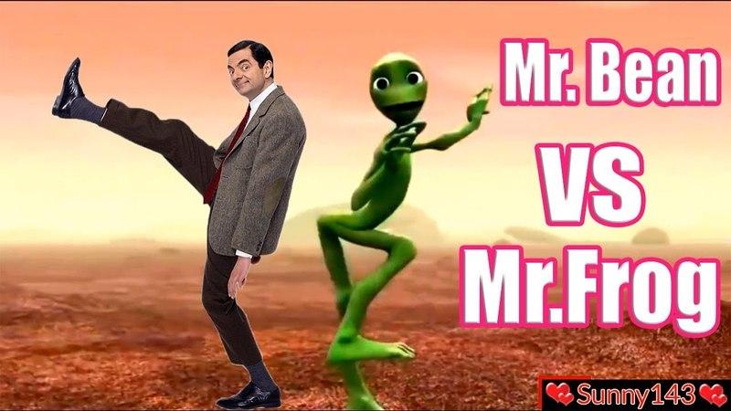 Dame Tu Cosita | Mr Bean Vs Crazy Frog | Animated Cartoon Song