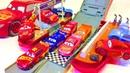 Тачки Молния Маквин Игрушки Большой Трансформер Трек Мультики Машинки Видео для Детей