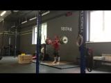 Maksimov Vasiliy Cleans 130-140-150-160-170-180 kg