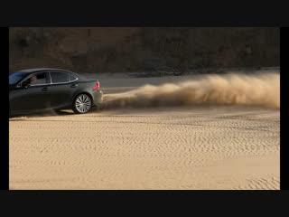 Lexus is250 на песке! Ноябрь2018г Лексус is 2014 года.
