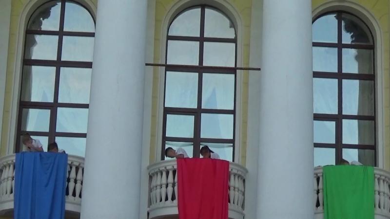 Сергиев Посад. ДК им.Ю.А.ГагаринаПоющие балконы 28 июня 2018 г.