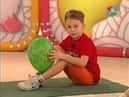 Разминка с шариком Прыг скок команда Зарядка для малышей!
