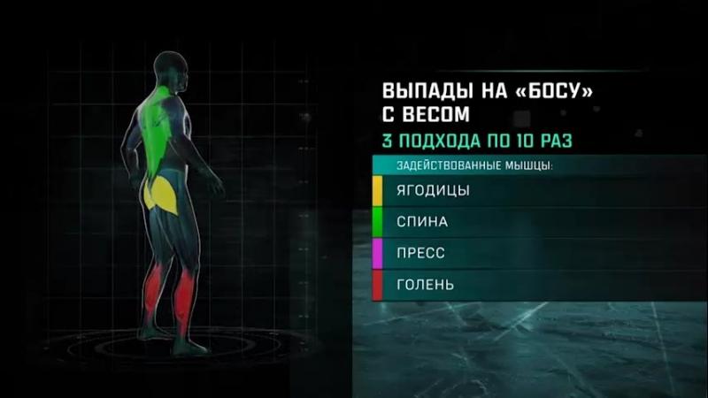 Упражнения от В.Н. Коновалова (ведущий специалист по ОФП и СФП проекта А. Мартыненко Школа безопасного хоккея )
