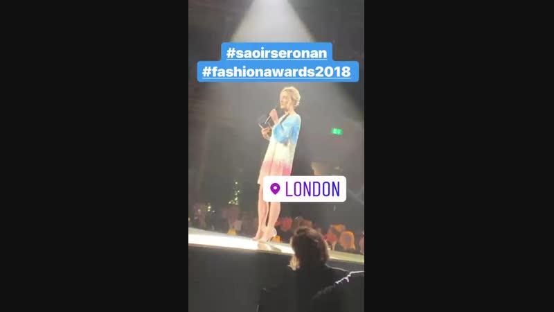 2018 ›› Церемония вручения наград британской модной премии «The Fashion Award» (10.12.18)