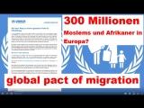 300 Millionen Moslems und Afrikaner in Europa