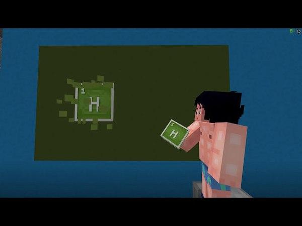 H - Водород, O - Кислород, C - Углерод, Я -... - Minecraft для важных переговоров