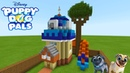 Minecraft: How To Make Bingo And Rollys Dog House Puppy Dog Pals
