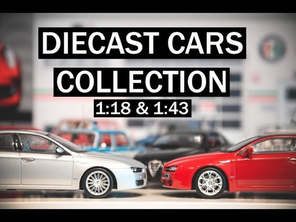 Diecast cars. My collection 118 143