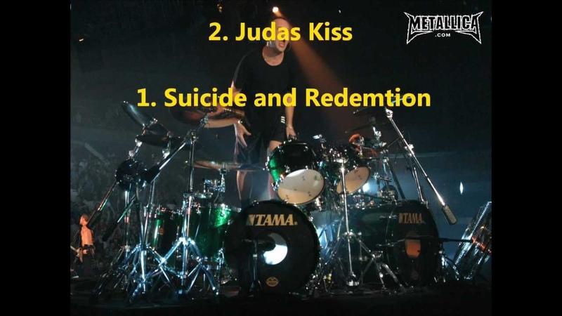 Lars Ulrich Drums Solos
