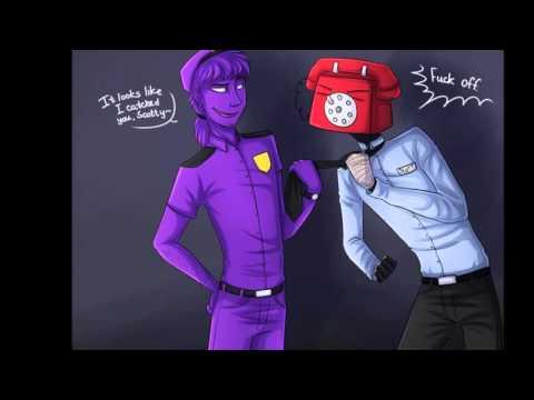 Фиолетовый парень и Телефон Гай
