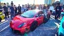 ILLEGAL DUBAI LAMBORGHINI RACECAR CAUSES CHAOS ON CANADIAN STREETS