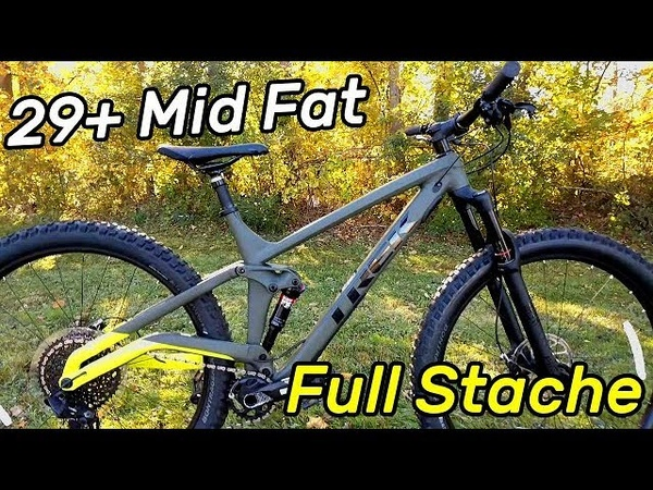 The Amazing Trek Full Stache 8 29 Full Suspension Mountain Bike Actual Weight 29x3 0