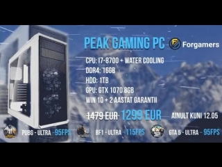PEAK GAMING PC