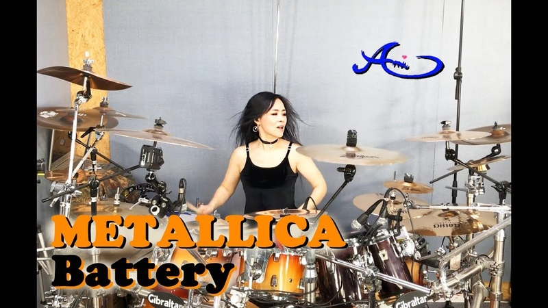 METALLICA - Battery drum cover by Ami Kim (63)