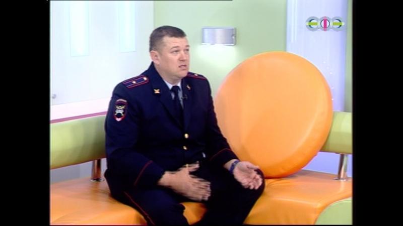 Ильдар Ихсанов - начальник отделения по пропаганде безопасности дорожного движения столичной госавтоинспекции