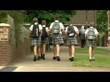 Skirting the issue schoolboys attend class in skirts during heatwave