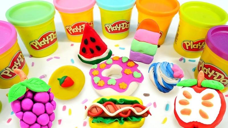 🔴 Play-Doh Okulu. Hamur oyunları çocuklar için LİVE