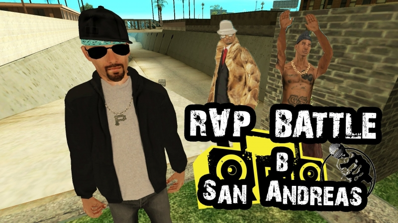 RADIOVOLNO RAP BATTLE в San Andreas