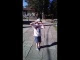 В Усть Качке... Танец в исполнении Тимоха?