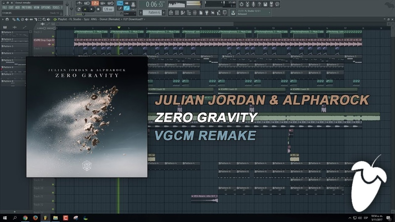 Julian Jordan x Alpharock - Zero Gravity (Original Mix) (FL Studio Remake FLP)