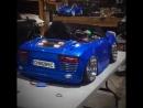 Детская Audi R8 на пневме