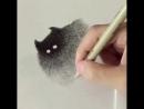 Кот в графике