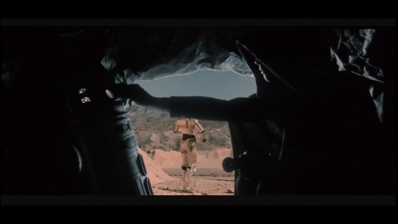 Star Wars VI Return of the Jedi. Меч Люка (удалённая сцена)
