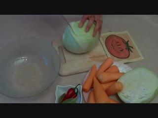 Квашеная капуста без соли полезный капустный квас с витамином Б12))
