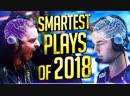 SMARTEST CSGO PRO PLAYS OF 2018! CSGO